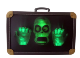Home Accents Holiday Halloween Animated Haunted Suitcase BRAND NEW - $59.99
