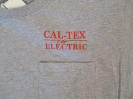 Cal Tex Electric  T Shirt Size L - $2.99
