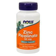 NOW Foods Zinc Picolinate -- 50 mg - 120 Vegetarian Capsules - $17.03