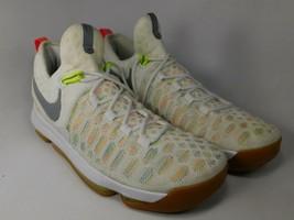 Nike Zoom KD 9 IX Size US 10 M (D) EU 44 Men's Basketball Shoes Multi 84... - $93.05