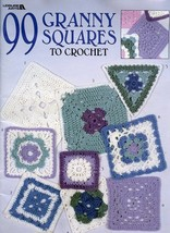 99 Granny Squares To Crochet 59 Pages PATTERN/INSTRUCTIONS New - $10.77