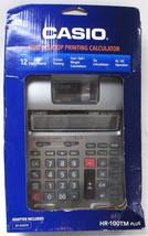 Casio Calculator Hr-100tm plus - $29.00