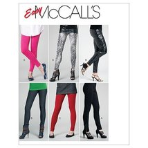 McCall's Patterns M6173 Misses'/Miss Petite Pants and Leggings, Size Z (LRG-XLG) - $14.21