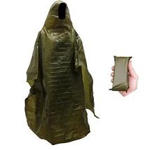 Lightweight Rain Gear Poncho Emergency Survival Cover Shelter Norwegian ... - $9.86
