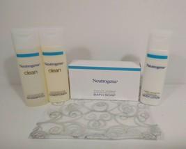 Neutrogena Travel Gift Set Shampoo, Conditioner, Lotion, Soap + Gift Bag - $10.00