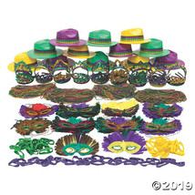 Bulk Mardi Gras Bead & Accessory Kit - 500 Pc. - $262.75