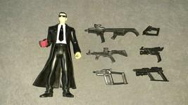 Teenage Mutant Ninja Turtles TMNT: 2006 Agent Bishop [w/ 6 Weapons Guns] - $150.00