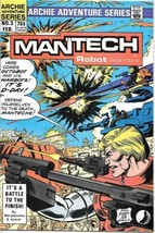 ManTech Robot Warriors Comic Book #3 Archie Comics 1985 VERY FINE+ - $3.25
