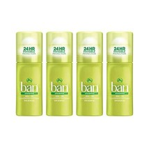 Ban Unscented 24h Invisible Antipersp Roll-on Deodorant for Women and Me... - $18.50