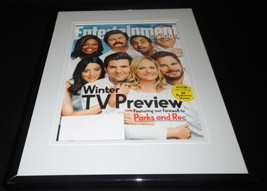 Parks & Recreation Framed ORIGINAL 2015 Entertainment Weekly Cover Amy P... - $22.55