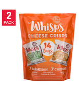 NEW Whisps Single Serve Parmesan and Cheddar Cheese Crisps **FREE SHIPPI... - $42.99