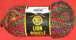 NEW Lion Brand 211 Tutti Fruitti 57 yds Lot 81676 2.5 oz Super Bulky 6 K... - $9.39