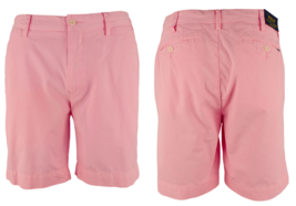 "$99 Polo Ralph Lauren Men's Straight Fit 8"" Chino Shorts, Harbor Pin, Si... - $69.29"
