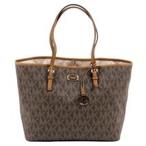 Brown ONE SIZE Michael Kors Womens Handbag JET SET TRAVEL 35F6GTVT3B BROWN - $262.93