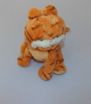 "Ty Garfield Beanbag Plush Stuffed Animal Cat Toy Collectible 2004 7"" - $14.99"