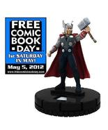 Free Comic Book Day THOR The Mighty Avenger Limited edition HeroClix Mar... - $3.91