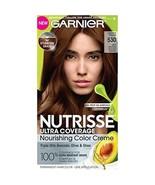 Garnier Nutrisse Ultra Coverage Hair Color, Deep Medium Golden Brown (Ch... - $19.95