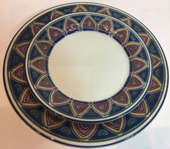 Pier 1 Imports England 2 Pc Place Setting Service for 1 - $27.71