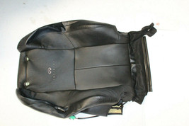 2005-2007 Infiniti G35 Coupe Front Right Passenger Upper Seat Cover Black J6881 - $117.60