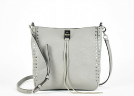 Rebecca Minkoff Small Darren Leather Feed Bag - Grey (Retail $245) - $107.91