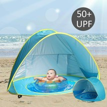 Baby Beach Tent Uv-protecting Sunshelter Pool Waterproof Pop Up Awning C... - $33.32