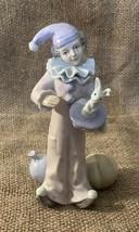 Vintage George Lefton Clown Figurine-1986-No 05516 - $8.91