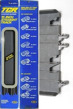 2 Ideal TCR HO 1977 Total Control Racing; 15 inch STRAIGHT Tracks. Unused 3306-8 - $16.82