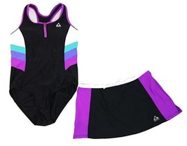New Gerry Girl's Swimsuit, One-piece + Shorts OR Tank+Bottom - Size 10