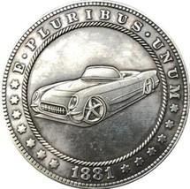 New Hobo Nickel 1881 Morgan Dollar Old Car Casted Coin - $11.39