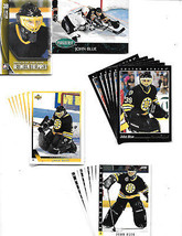 2013-14 ITG Between the pipes-JOHN BLUE-22 cards-Bruins-Pinnacle,Upper D... - $0.79