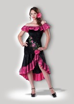Incharacter Coqueto Flamenco Español Adulto Mujer Halloween Disfraz 11040 - $34.63
