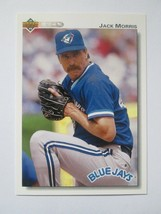 Jack Morris 1992 Upper Deck Card #732 Blue Jays Twins Tigers Free Shipping - $1.29
