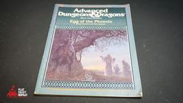 Tsr Ad&D I12 Egg Of The Phoenix 9201 Advanced Dungeon Dragon - $125.20