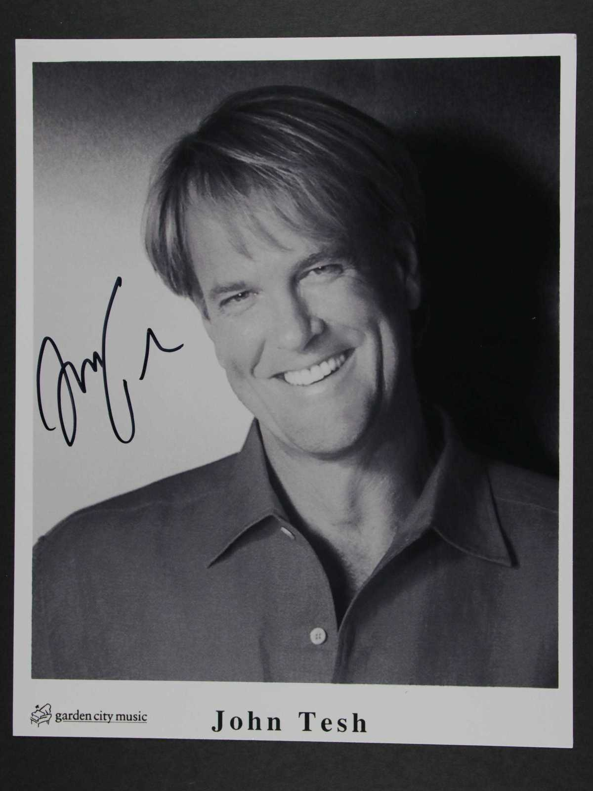 Primary image for John Tesh Signed Autographed Glossy 8x10 Photo