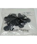 Destron Fearing ST08 Standard Stud Blank Black Male Buttons Quantity 25 - $12.99