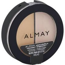 Almay Smart Shade CC Concealer + Brightener, Light 100, .12 oz - $4.99