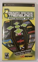 Midway Arcade Treasures Extended Play 2005 Sony PSP CIB Complete Video Game - $21.73