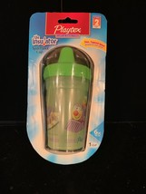 Playtex The Insulator Spill Proof Cup 6OZ Stage 2 9 Months+ Free Ship Manf Disc - $12.50