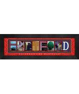 University of Hartford Officially Licensed Framed Campus Letter Art - $39.95