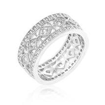 Simple Classic Cubic Zirconia Band - $28.00