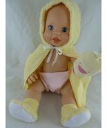 "Vintage Mattel Little Mommy 13"" Blue Eyes All Vinyl Baby Doll r - $20.78"