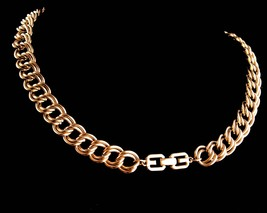 "Vintage Givenchy necklace - 24"" signed Bijoux Couture Designer chain - d... - $175.00"