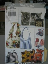Butterick 3925 Variety of Soft or Quilted Bags Pattern - $11.87