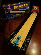Ideal Rack N Roll Bowling Play Game Set Style No. 202 Used Incomplete - $119.95