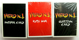Weird New Jersey game cards 3 decks new in packaging Game pieces - $16.83