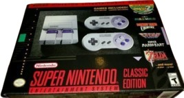 Nintendo SNES classic edition New NIB New In Box Never Opened Retro - $108.36