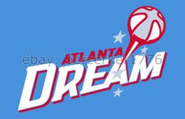 Atlanta Dream WNBA 3'x5' blue Flag Angel McCoughtry Shoni Schimmel - USA... - $25.00