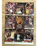 1993-94 Fleer Ultra Basketball Uncut Promo/ Sale Sheet Dominique Wilkins... - $10.88