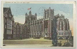 Old Postcard College of the City of New York Red Cross Roll Call Postmar... - $19.59