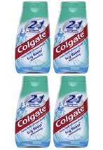 Colgate Icy Blast Toothpaste Mouth Wash 2 N 1 Whitening  Fresh Oral Care - $16.83